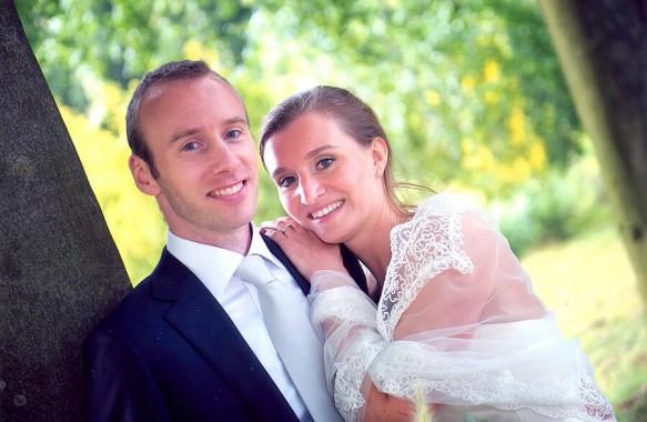Bruidsvisagie voor Elisa