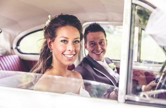 Bruidsvisagie voor Yvonne