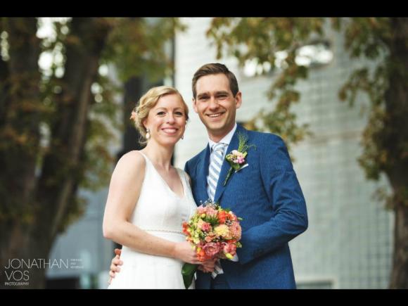 Visagie en haarstyling bruid Charlotte