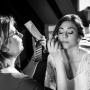 Visagie en haarstyling bruid Angelique